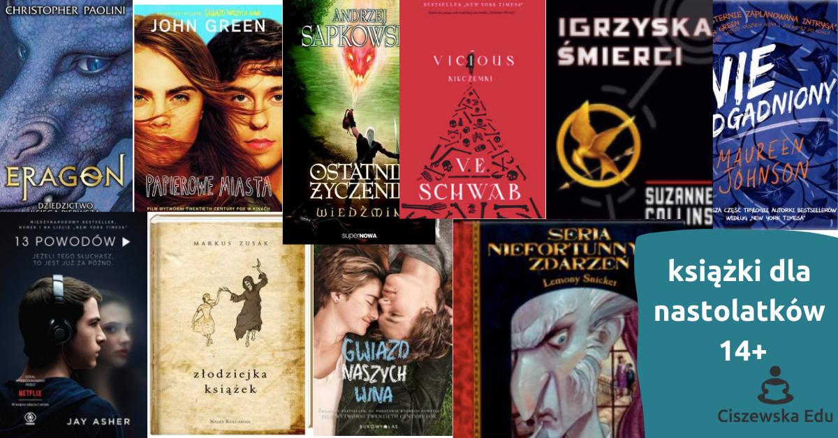 najlepsze książki dla nastolatków, książki dla młodzieży, recenzje książek dla młodzieży